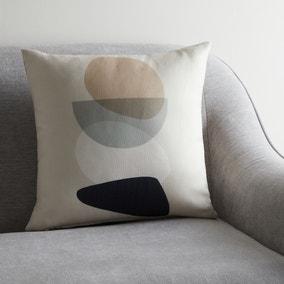 Pebble Neutral Modern Cushion