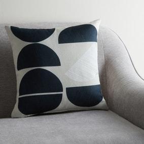 Cut Out Moon Geo Cushion