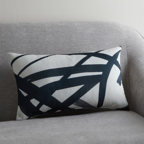 Brushbroke Modern Print Cushion