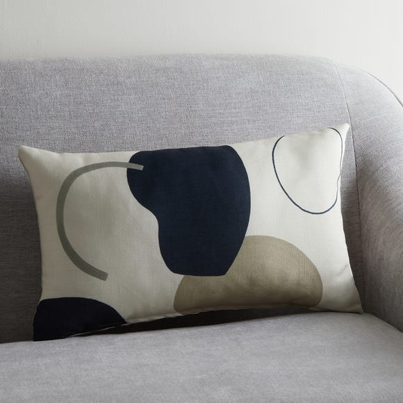 Neutral Forms Print Cushion MultiColoured undefined