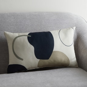 Neutral Forms Print Cushion