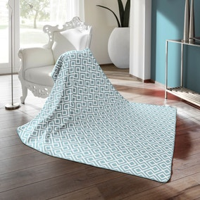 Thermosoft Raute Blue Blanket