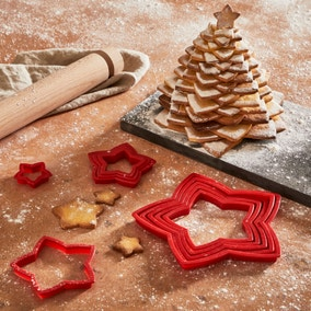Nordic Nomad Cookie Cutter 3D Tree
