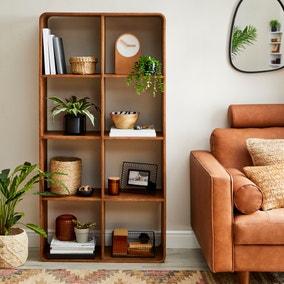 Elements Bent Ply Bookcase Shelving Unit