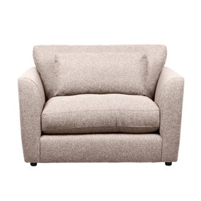 Esther Fleck Fabric Snuggle Chair