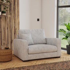 Carson Chunky Chenille Snuggle Chair