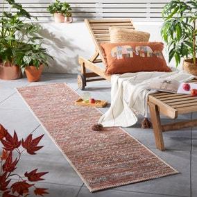 Sunset Terracotta Mix Indoor Outdoor Runner