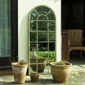 Tulip Antique Outdoor Mirror