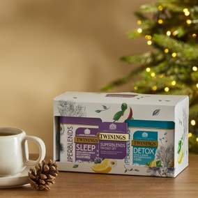 Twinings Superblends Tin Duo Gift Set