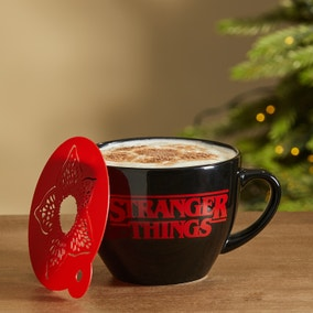 Stranger Things Cappuccino Mug