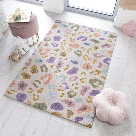 Leopard Brights Rug  undefined