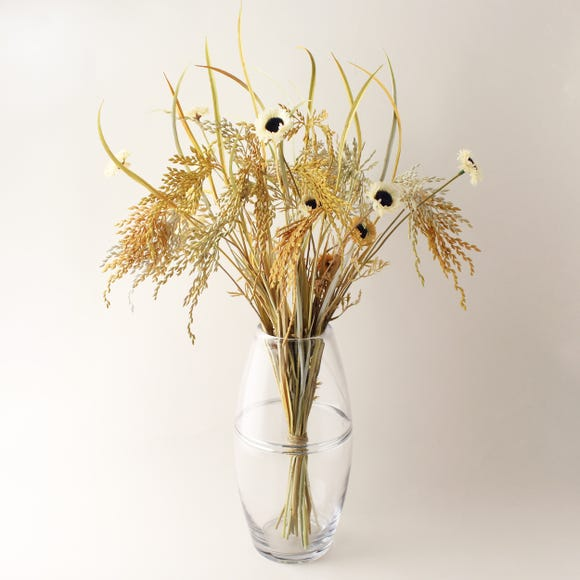 Florals Forever Willow Dried-Look Bouquet Natural