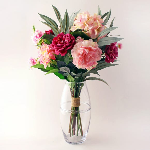 Florals Forever Jeanette Rose Bouquet Pink