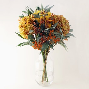Florals Forever Autumn Hydrangea and Eucalyptus Bouquet