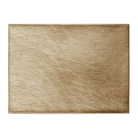 Pack of 4 Gold Foil Placemats