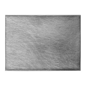 Pack of 4 Silver Foil Placemats