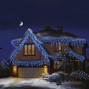 720 LED Snowing Icicle Brights