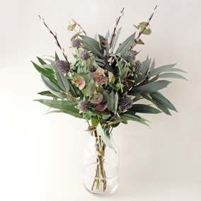 Florals Forever Thistle and Eucalyptus Bouquet