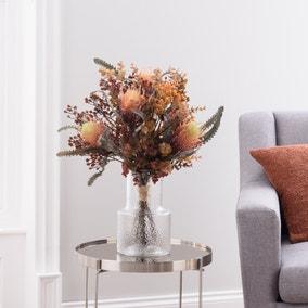 Florals Forever Autumn Protea and Gypsophila Bouquet