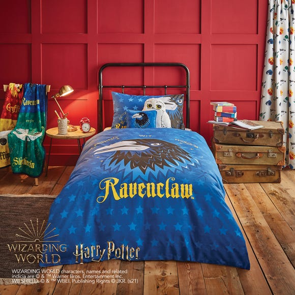 Harry Potter Ravenclaw House Reversible Duvet Cover and Pillowcase Set  undefined
