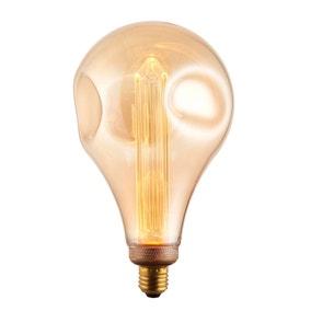 Vogue 2.5 Watt ES LED Amber Dimple Globe Bulb