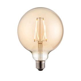Vogue 2 Watt ES LED Amber Filament XL Globe Bulb