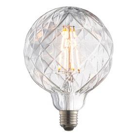 Vogue 4 Watt ES LED Groove Globe Bulb