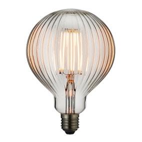 Vogue 4 Watt ES LED Ribbed Globe Bulb