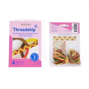 Threadship Vitamin Friendship Bracelets Craft Kit
