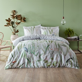 Paoletti Aaliyah 100% Cotton Duvet Cover and Pillowcase Set