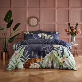Paoletti Artemis 100% Cotton Duvet Cover and Pillowcase Set