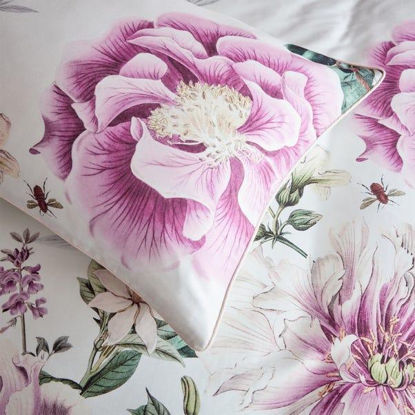Paoletti Krista 100% Cotton Housewife Pillowcase Pair Pink