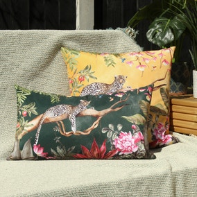 Leopard Forest Outdoor Cushion