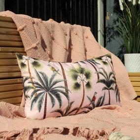 Palms Blush Outdoor Cushion