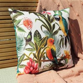 Parrots Multicoloured Outdoor Cushion