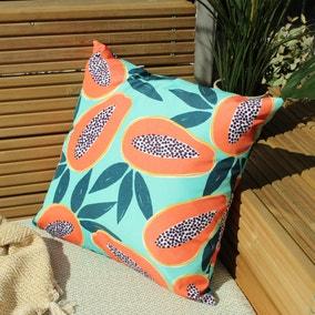 Papaya Aqua Outdoor Cushion