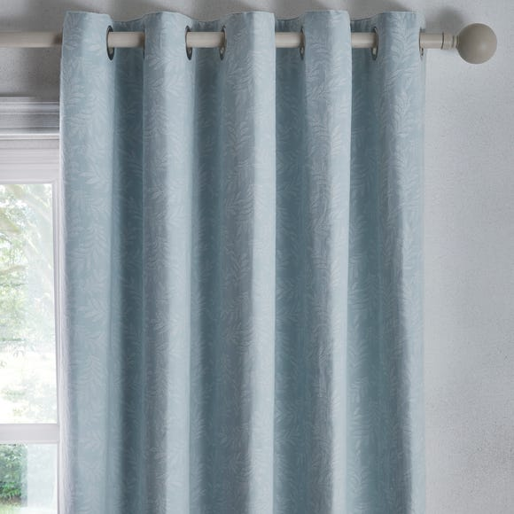 Telford Duck Egg Eyelet Curtains  undefined