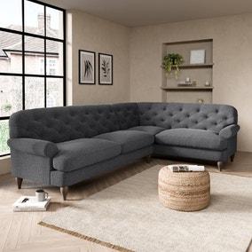 Canterbury Slub Cotton Right Hand Corner Sofa
