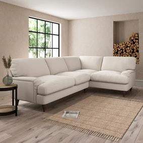 Darwin Slub Cotton Right Hand Corner Sofa