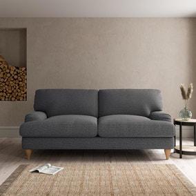 Darwin Textured Weave 3 Seater Sofa