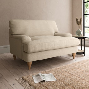 Darwin Textured Weave Snuggle Chair