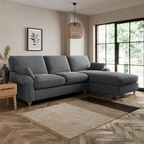 Salisbury Slub Cotton Right Hand Corner Sofa