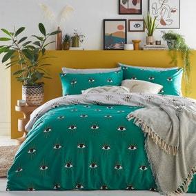 Furn. Theia Jade Duvet Cover and Pillowcase Set