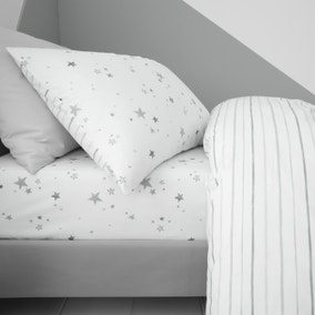 Bianca Fine Linens Stars 100% Cotton Fitted Sheet