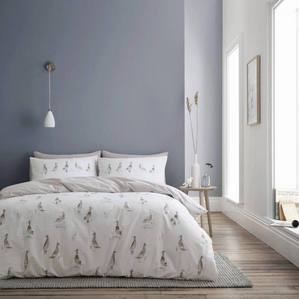 Bianca Fine Linens Dapper Ducks 100% Cotton Duvet Cover and Pillowcase Set  undefined