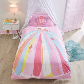 Catherine Lansfield Be A Princess Duvet Cover and Pillowcase Set