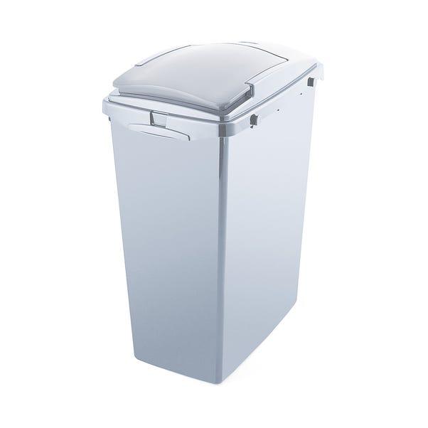 Addis Grey 40L Recycled Plastic Bin Grey