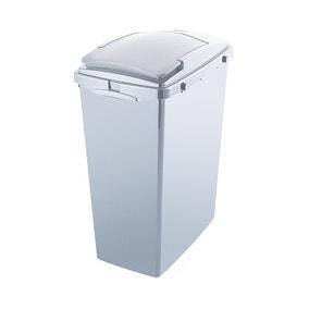 Addis Grey 40L Recycled Plastic Bin