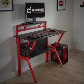 Rogue Red Gaming Desk