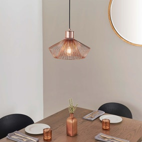 Vogue Galanta 1 Light Pendant Ceiling Fitting